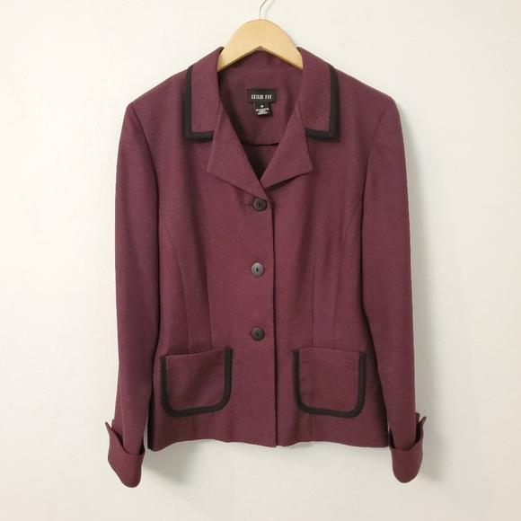 Leslie Fay Women's Dress Suit Jacket